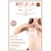 Bye Bra - Breast Lift & Zijden Tepel Covers F-H Huidskleur 3 Paar Sexshop Eroware -  Sexartikelen