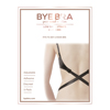 Bye Bra - Flexibele Lage Rug Straps 2-Haaks Zwart & Wit Sexshop Eroware -  Sexspeeltjes