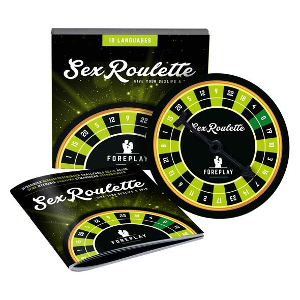 Sex Roulette Foreplay (NL-DE-EN-FR-ES-IT-PL-RU-SE-NO) Online Sexshop Eroware Sexshop Sexspeeltjes