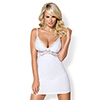 Obsessive - Chemise & Thong Wit L/XL Sexshop Eroware -  Sexartikelen