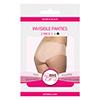Bye Bra - Onzichtbare Onderbroek (Huidskleur & Zwart 2-Pack) XL Sexshop Eroware -  Sexspeeltjes