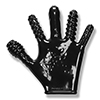 Oxballs - Finger Fuck Glove Zwart Sexshop Eroware -  Sexartikelen