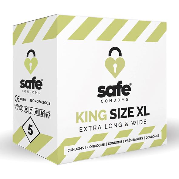 SAFE - Condooms - King Size XL (5 stuks) Online Sexshop Eroware Sexshop Sexspeeltjes