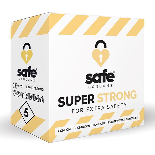 SAFE - Condooms - Super Strong (5 stuks) Online Sexshop Eroware Sexshop Sexspeeltjes