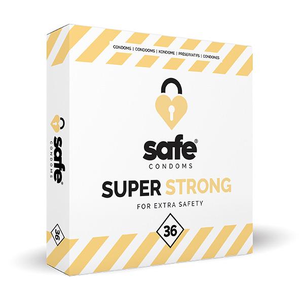 SAFE - Condooms - Super Strong (36 stuks) Online Sexshop Eroware Sexshop Sexspeeltjes