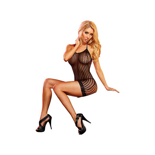 Lapdance - Kanten Mini Jurk Zwart Online Sexshop Eroware Sexshop Sexspeeltjes