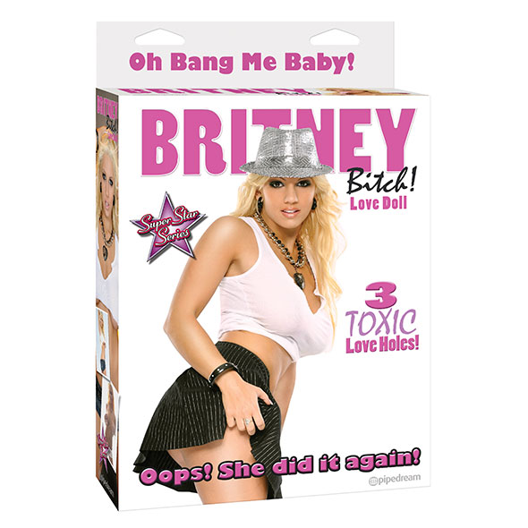 Britney Bitch Opblaaspop Online Sexshop Eroware Sexshop Sexspeeltjes