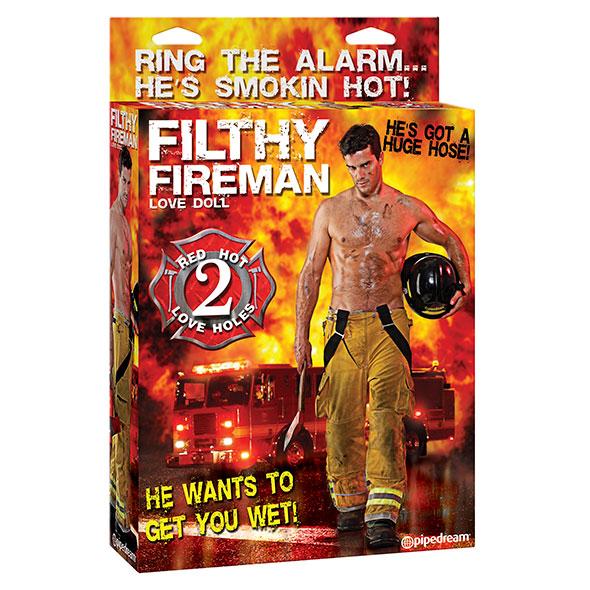Filthy Fireman Opblaaspop Online Sexshop Eroware Sexshop Sexspeeltjes