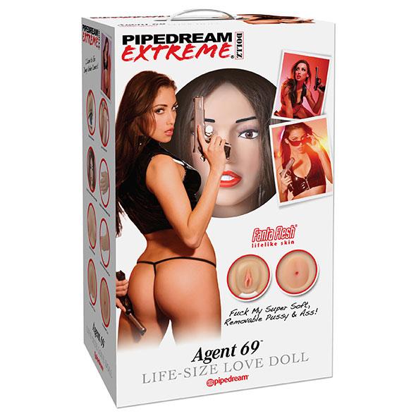 Pipedream Extreme Dollz Agent 69 Life-Size Opblaaspop Online Sexshop Eroware Sexshop Sexspeeltjes