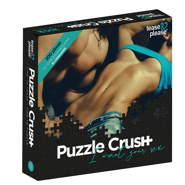 Puzzle Crush I Want Your Sex (200 st.) Online Sexshop Eroware Sexshop Sexspeeltjes