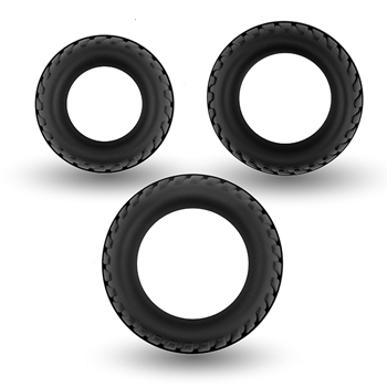 Velv'Or - Rooster Floki Pack Set of Sturdy Looking Cock Rings