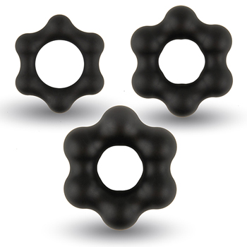Velv'Or - Rooster Milo Pack Set of Robust Cock Rings