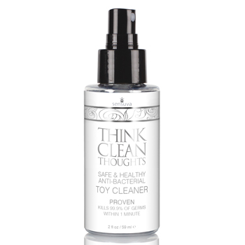 Sensuva - Think Clean Thoughts Anti Bacterial Toy Cleaner 59 ml
