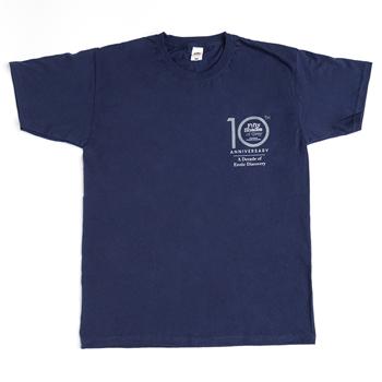 Fifty Shades of Grey - 10 Year Anniversary T-Shirt Medium
