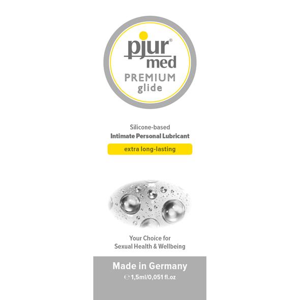 Pjur - Sachet MED Premium Glide 1,5 ml Online Sexshop Eroware Sexshop Sexspeeltjes