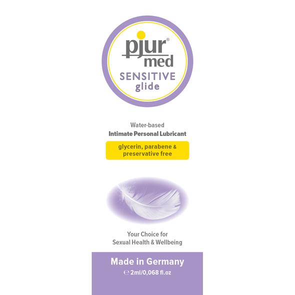 Pjur - Sachet MED Sensitive Glide Online Sexshop Eroware Sexshop Sexspeeltjes