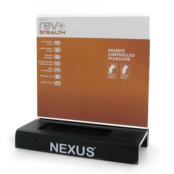 Nexus - Display Revo Stealth Online Sexshop Eroware Sexshop Sexspeeltjes