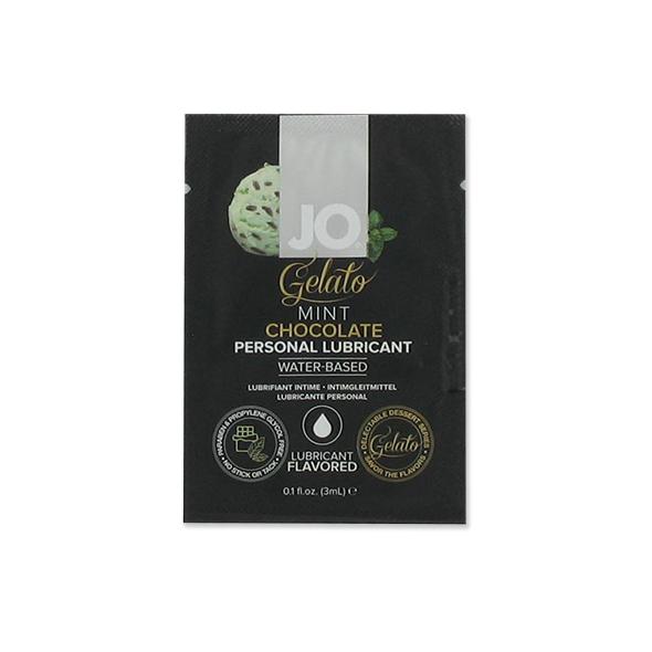 System JO - Sachet Gelato Mint Chocolate Lubricant 3 ml Online Sexshop Eroware Sexshop Sexspeeltjes