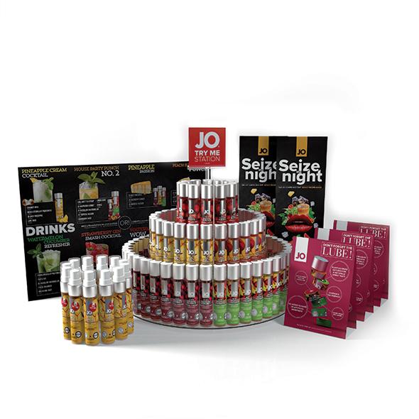 System JO - H2O Flavors Shelf Offer Online Sexshop Eroware Sexshop Sexspeeltjes