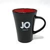 System JO - Ceramic Mug Black and Red Sexshop Eroware -  Sexspeeltjes