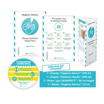 Pjur - Desinfect POS Kits
